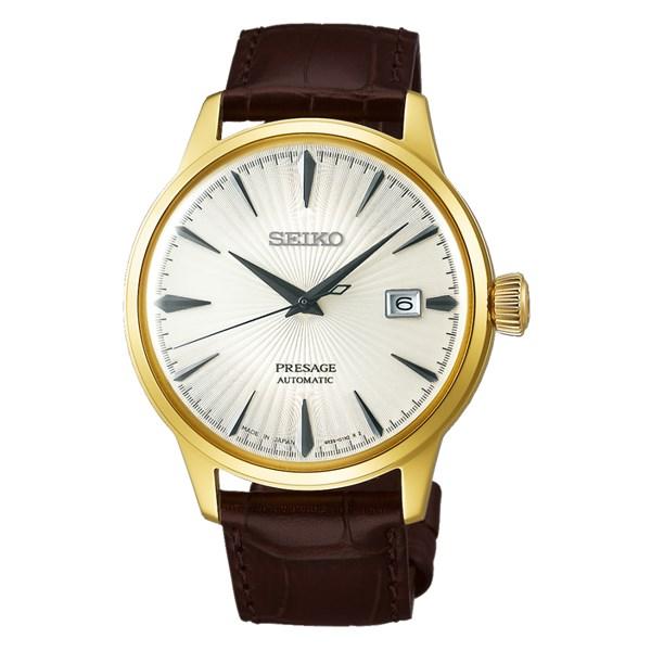 (国内正規品)(セイコー)SEIKO 腕時計 SARY126 (プレザージュ)PRESAGE メンズ ベーシックライン(牛革バンド 自動巻き(手巻付) アナログ)