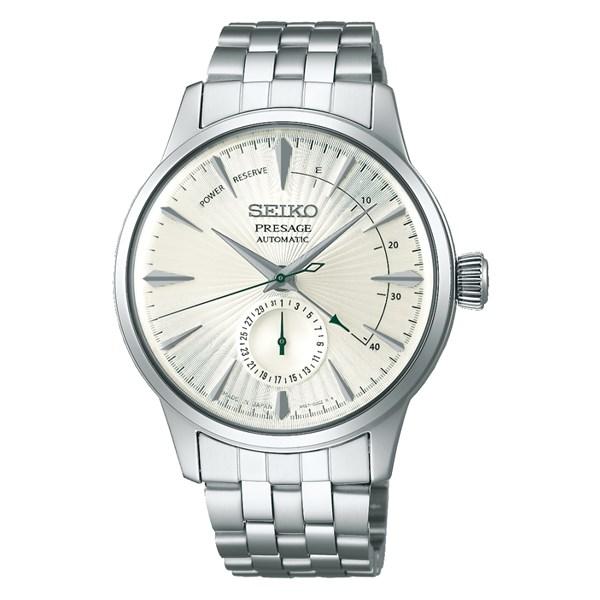 (国内正規品)(セイコー)SEIKO 腕時計 SARY129 (プレザージュ)PRESAGE メンズ ベーシックライン(ステンレスバンド 自動巻き(手巻付) 多針アナログ)
