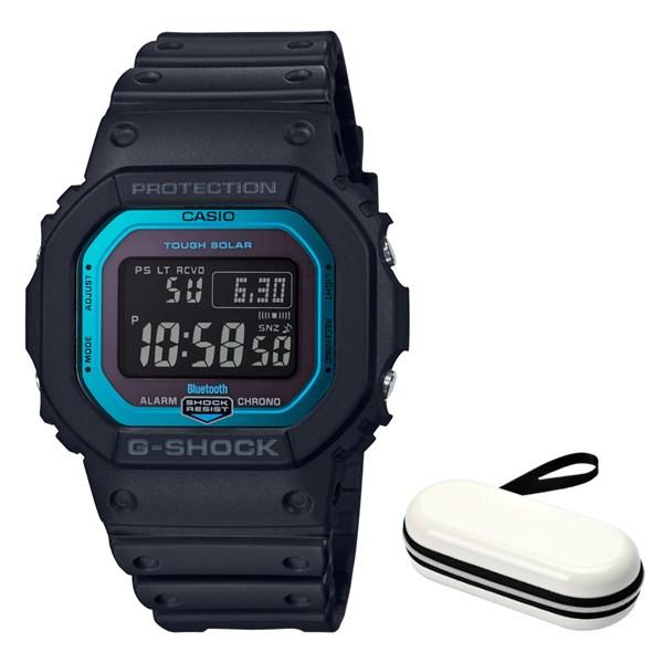 (時計ケースセット)(国内正規品)(カシオ)CASIO 腕時計 GW-B5600-2JF (ジーショック)G-SHOCK メンズ Bluetooth搭載(樹脂バンド 電波ソーラー デジタル)