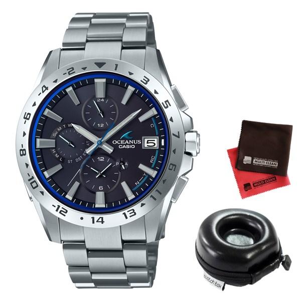 (時計ケース・クロスセット)(国内正規品)(カシオ)CASIO 腕時計 OCW-T3000-1AJF (オシアナス)OCEANUS メンズ クラシックライン Bluetooth搭載(チタンバンド 電波ソーラー 多針アナログ)