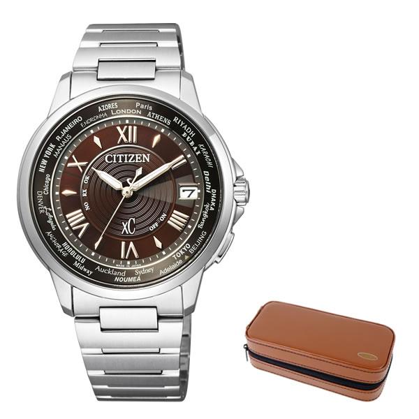 (時計ケースセット)(国内正規品)(シチズン)CITIZEN 腕時計 CB1020-71X (クロスシー)xC メンズ ペアモデル ステンレスライン 限定(ステンレスバンド ソーラー電波 アナログ)