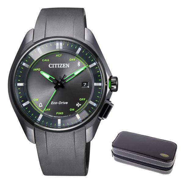 (時計ケースセット)(国内正規品)(シチズン)CITIZEN 腕時計 BZ4005-03E エコドライブ Bluetooth メンズ レディース(ウレタンバンド ソーラー アナログ)