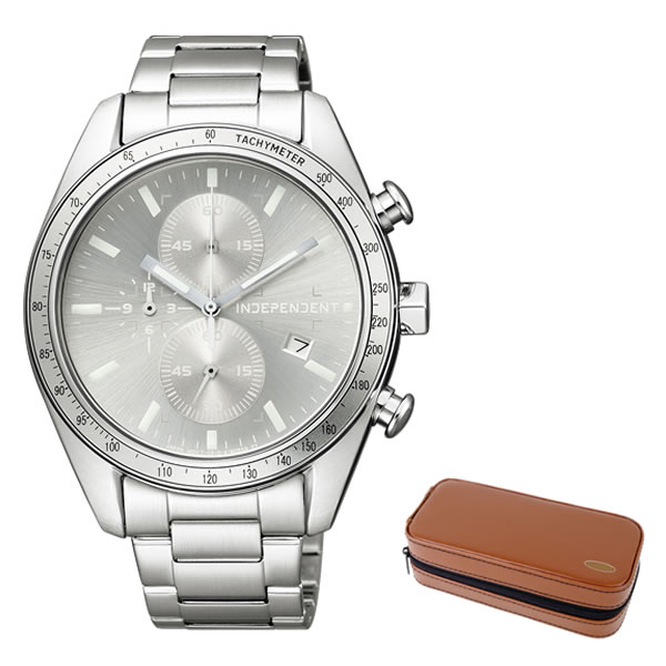 (時計ケースセット)(国内正規品)(シチズン)CITIZEN 腕時計 BA7-115-91 (インディペンデント)INDEPENDENT メンズ(ステンレスバンド 自動巻き アナログ)(無料バンド調整可)