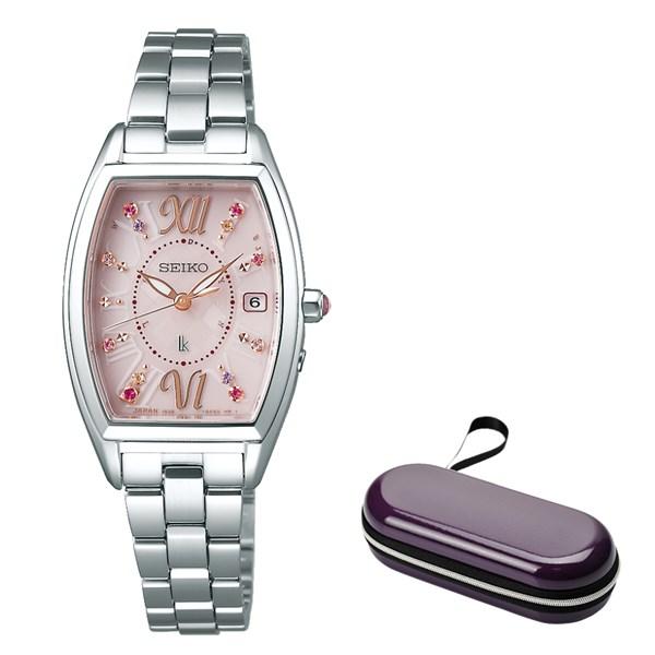 (時計ケースセット)(国内正規品)(セイコー)SEIKO 腕時計 SSVW129 (ルキア)LUKIA レディース 2018 クリスマス 限定モデル(ステンレスバンド 電波ソーラー アナログ)