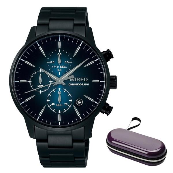 (時計ケースセット)(国内正規品)(セイコー)SEIKO 腕時計 AGAT422 (ワイアード)WIRED メンズ(ステンレスバンド クオーツ 多針アナログ)