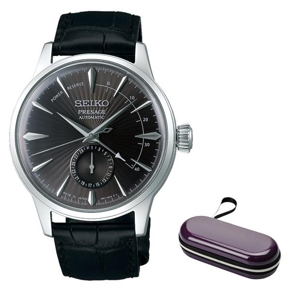 (時計ケースセット)(国内正規品)(セイコー)SEIKO 腕時計 SARY101 (プレザージュ)PRESAGE メンズ ネット限定モデル(牛革バンド 自動巻き(手巻付) 多針アナログ)