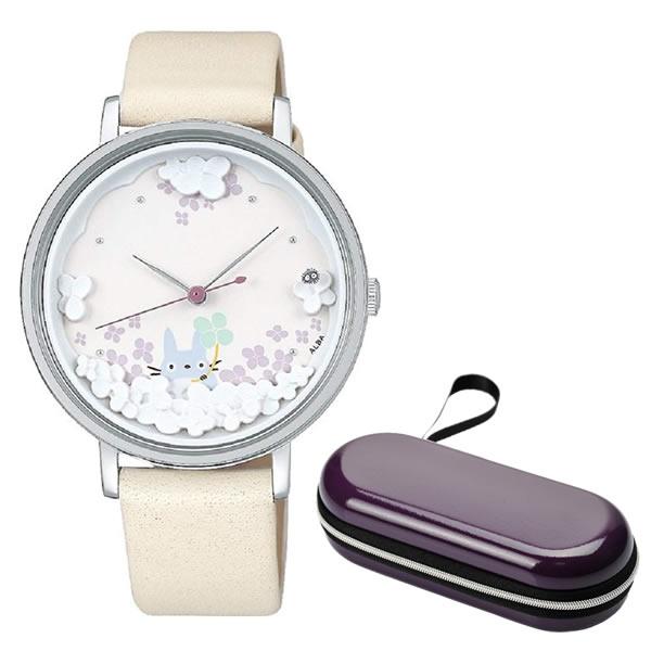 (時計ケースセット)(国内正規品)(セイコー)SEIKO 腕時計 ACCK705 (アルバ キャラクターウォッチ)ALBA レディース 大人女子 となりのトトロ 映画公開30周年記念 限定モデル(牛革バンド クオーツ アナログ)