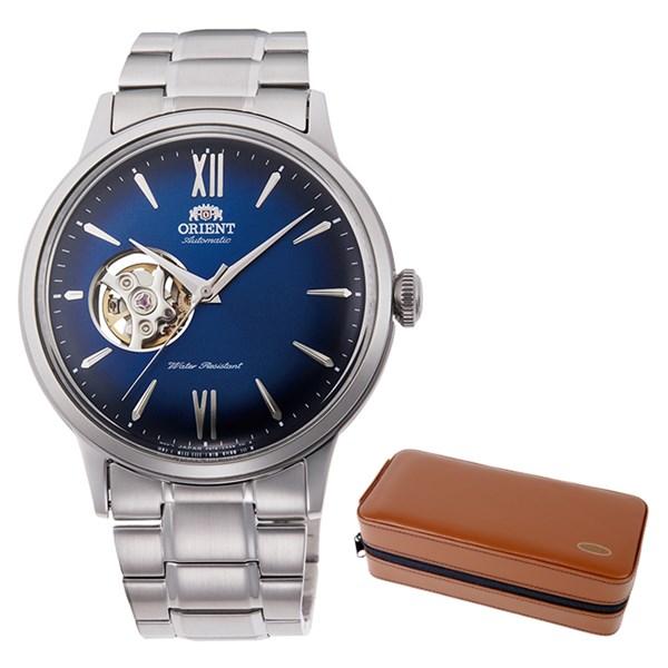 (ケースセット)(国内正規品)(オリエント)ORIENT 腕時計 RN-AG0017L (クラシック)CLASSIC メンズ セミスケルトン(ステンレスバンド 自動巻き(手巻付) アナログ)