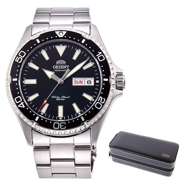 (ケースセット)(国内正規品)(オリエント)ORIENT 腕時計 RN-AA0001B (スポーツ)SPORTS メンズ(ステンレスバンド 自動巻き(手巻付) アナログ)