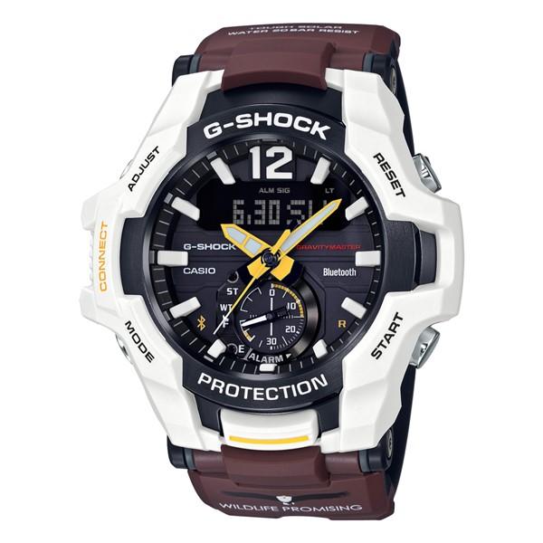 (国内正規品)(カシオ)CASIO 腕時計 GR-B100WLP-7AJR (ジーショック)G-SHOCK メンズ WILDLIFE PROMISING コラボモデル サンショクウミワシ(樹脂バンド ソーラー アナデジ)