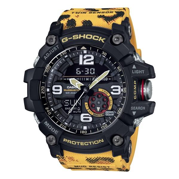 (国内正規品)(カシオ)CASIO 腕時計 GG-1000WLP-1AJR (ジーショック)G-SHOCK メンズ WILDLIFE PROMISING コラボモデル ヒョウ(樹脂バンド クオーツ アナデジ)
