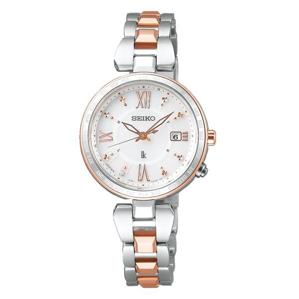 (国内正規品)(セイコー)SEIKO 腕時計 SSQV056 (ルキア)LUKIA レディース レディダイヤ(チタンバンド 電波ソーラー アナログ)