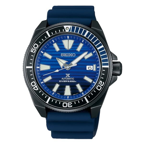 (国内正規品)(セイコー)SEIKO 腕時計 SBDY025 (プロスペックス)PROSPEX メンズ ダイバースキューバ サムライ Save the Ocean Special Edition(シリコンバンド 自動巻き(手巻付) アナログ)