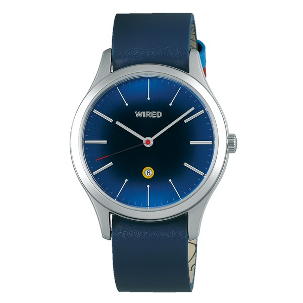(国内正規品)(セイコー)SEIKO 腕時計 AGAK709 (ワイアード)WIRED メンズ レディース ユニセックス ドラえもんデザイン 限定モデル(牛革バンド クオーツ アナログ)