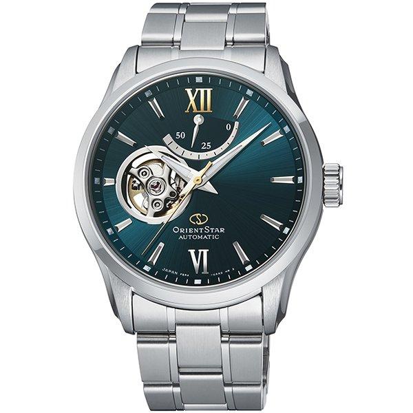 (国内正規品)(オリエントスター)ORIENTSTAR 腕時計 RK-AT0003E コンテンポラリー メンズ セミスケルトン(ステンレスバンド 自動巻き(手巻付) 多針アナログ)