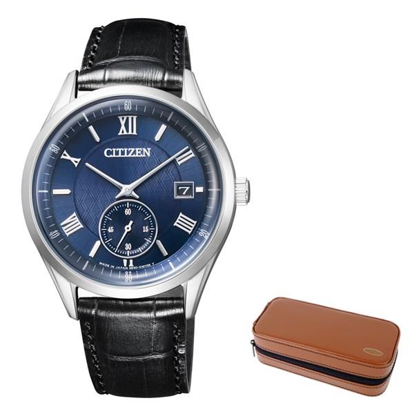 (12月新商品)(腕時計ケースセット)(国内正規品)(シチズン)CITIZEN 腕時計 BV1120-15L シチズンコレクション メンズ(牛革バンド ソーラー 多針アナログ)