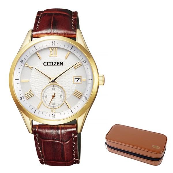 (12月新商品)(腕時計ケースセット)(国内正規品)(シチズン)CITIZEN 腕時計 BV1122-10P シチズンコレクション メンズ(牛革バンド ソーラー 多針アナログ)