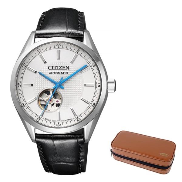 (12月新商品)(腕時計ケースセット)(国内正規品)(シチズン)CITIZEN 腕時計 NH9111-11A シチズンコレクション メンズ メカニカル クラシカル オープンハート(牛革バンド 自動巻き(手巻付) アナログ)