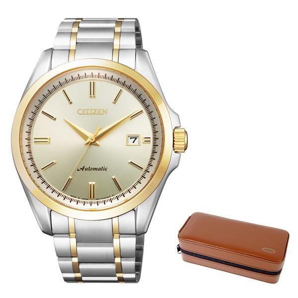 (時計ケースセット)(国内正規品)(シチズン)CITIZEN 腕時計 NB1044-86P シチズンコレクション メンズ メカニカル(ステンレスバンド 自動巻き(手巻付) アナログ)