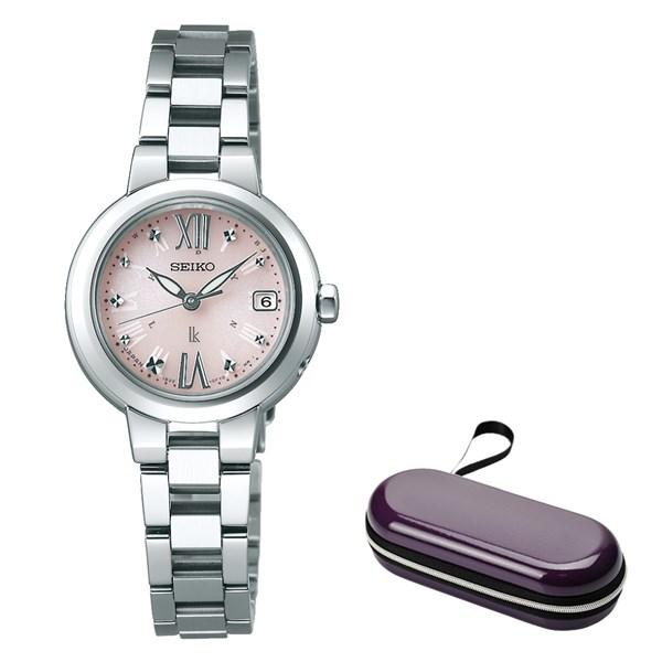 (時計ケースセット)(国内正規品)(セイコー)SEIKO 腕時計 SSVW137 (ルキア)LUKIA レディース(ステンレスバンド 電波ソーラー アナログ)