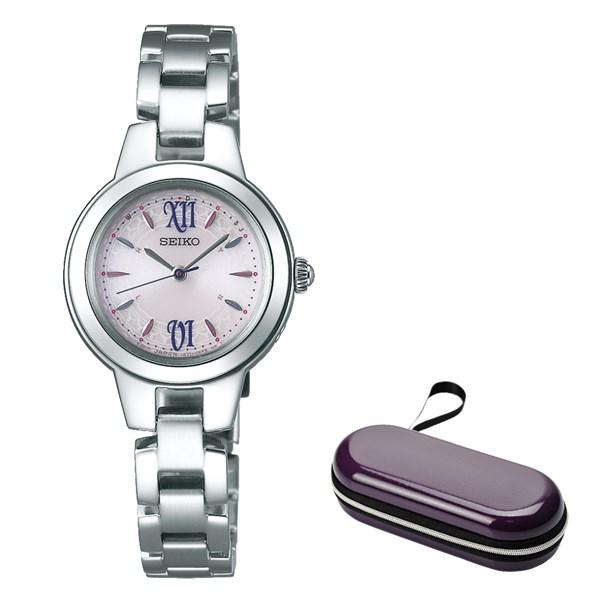 (時計ケースセット)(国内正規品)(セイコー)SEIKO 腕時計 SWFH101 セイコーセレクション レディース(ステンレスバンド 電波ソーラー アナログ)