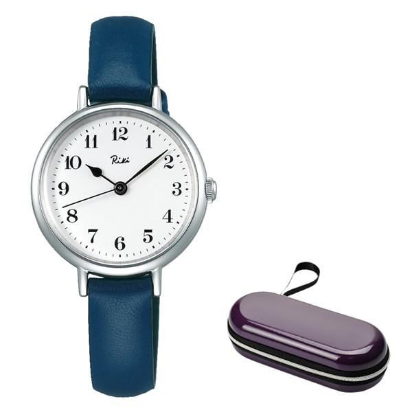 (時計ケースセット)(国内正規品)(セイコー)SEIKO 腕時計 AKQK445 (アルバ リキ クオーツ)ALBA Riki レディース(牛革バンド クオーツ アナログ)