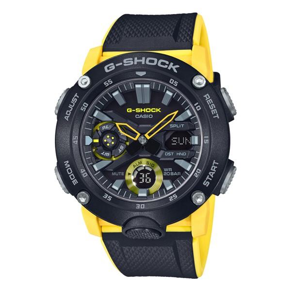 (3月新商品)(国内正規品)(カシオ)CASIO 腕時計 GA-2000-1A9JF (ジーショック)G-SHOCK メンズ(樹脂バンド クオーツ アナデジ)