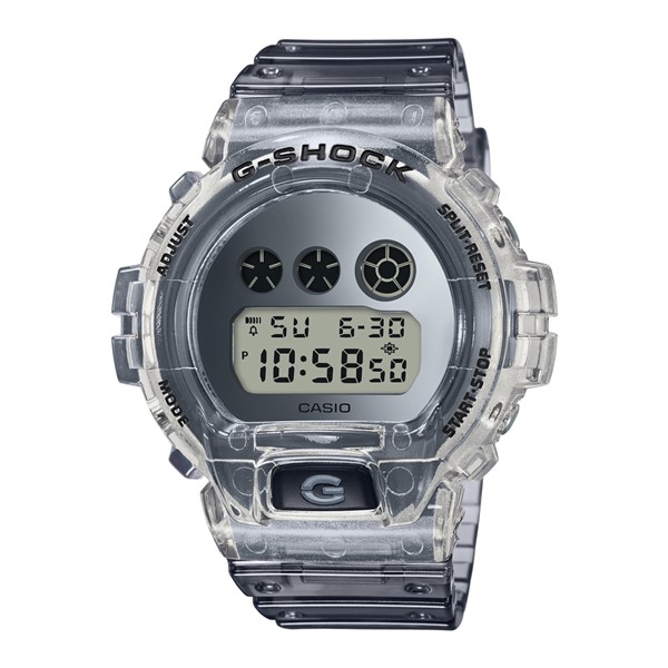 (4月新商品)(国内正規品)(カシオ)CASIO 腕時計 DW-6900SK-1JF (ジーショック)G-SHOCK メンズ Clear Skeleton クリアスケルトン 限定モデル(樹脂バンド クオーツ デジタル)