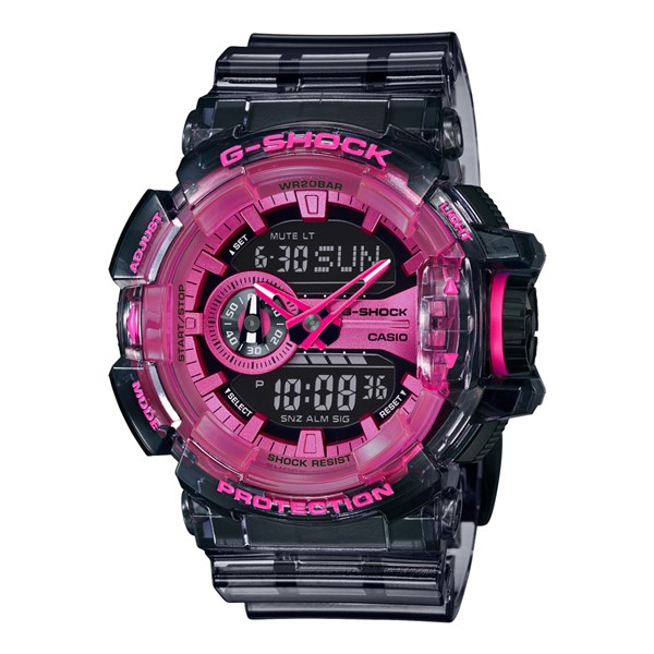 (4月新商品)(国内正規品)(カシオ)CASIO 腕時計 GA-400SK-1A4JF (ジーショック)G-SHOCK メンズ Clear Skeleton クリアスケルトン 限定モデル(樹脂バンド クオーツ アナデジ)
