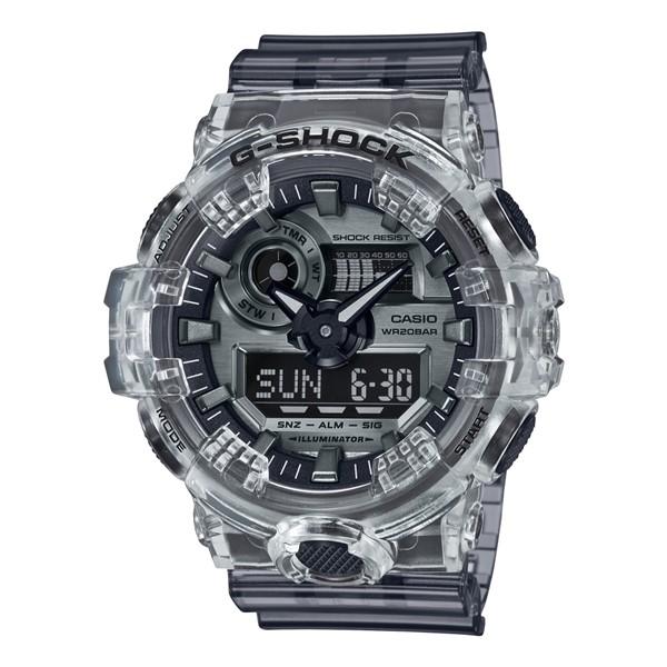 (4月新商品)(国内正規品)(カシオ)CASIO 腕時計 GA-700SK-1AJF (ジーショック)G-SHOCK メンズ Clear Skeleton クリアスケルトン 限定モデル(樹脂バンド クオーツ アナデジ)