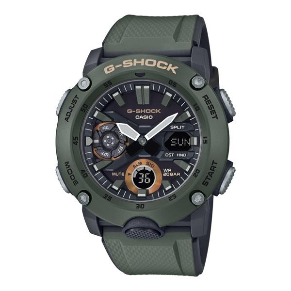 (4月新商品)(4月12日発売予定)(国内正規品)(カシオ)CASIO 腕時計 GA-2000-3AJF (ジーショック)G-SHOCK メンズ(樹脂バンド クオーツ アナデジ)