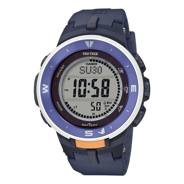 (3月新商品)(国内正規品)(カシオ)CASIO 腕時計 PRG-330SD-2JR PROTREK(プロトレック) メンズ レディース 日本自然保護協会 コラボモデル オオルリシジミ(樹脂バンド ソーラー デジタル)