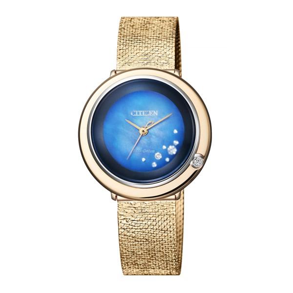 (4月新商品)(国内正規品)(シチズン)CITIZEN 腕時計 EM0648-81N (エル)L レディース アンビリュナ「New TiMe, New Me」特別限定モデル(ステンレスバンド ソーラー アナログ)