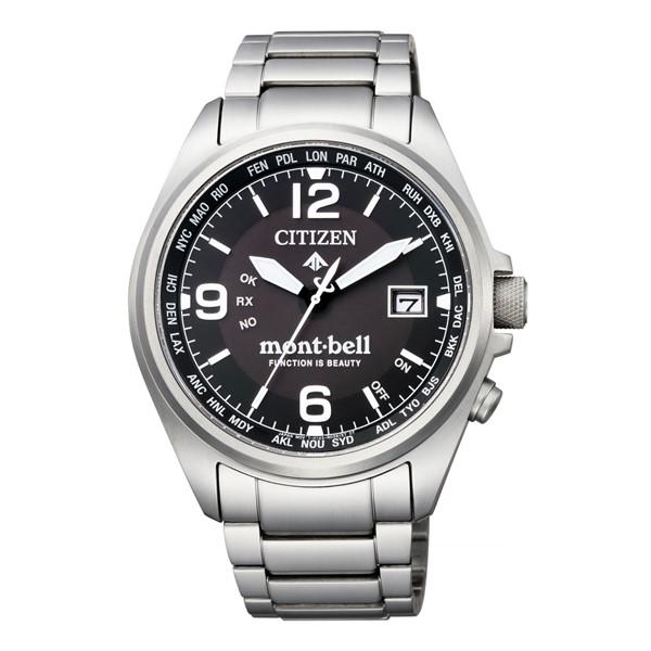 (3月新商品)(国内正規品)(シチズン)CITIZEN 腕時計 CB0171-89E (プロマスター)PROMASTER エコドライブ mont-bell モンベルコラボ 限定モデル(チタンバンド 電波ソーラー アナログ)