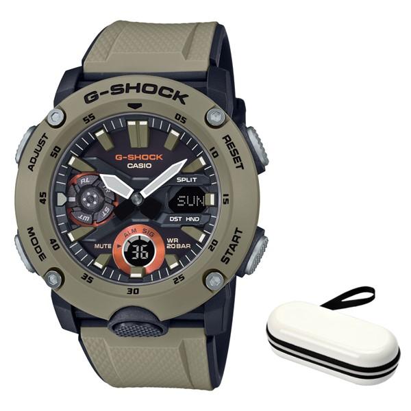 (時計ケースセット)(国内正規品)(カシオ)CASIO 腕時計 GA-2000-5AJF (ジーショック)G-SHOCK メンズ(樹脂バンド クオーツ アナデジ)