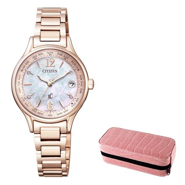 (4月新商品)(時計ケースセット)(国内正規品)(シチズン)CITIZEN 腕時計 EC1164-53X (クロスシー)xC レディース 「New TiMe, New Me」特別限定モデル(チタンバンド 電波ソーラー アナログ)