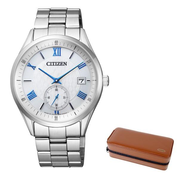 (4月新商品)(時計ケースセット)(国内正規品)(シチズン)CITIZEN 腕時計 BV1120-91A シチズンコレクション メンズ (ステンレスバンド ソーラー 多針アナログ)