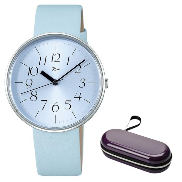 (時計ケースセット)(国内正規品)(セイコー)SEIKO 腕時計 AKQK716 (アルバ リキ クオーツ)ALBA Riki レディース 「涼」 限定(革バンド クオーツ アナログ)