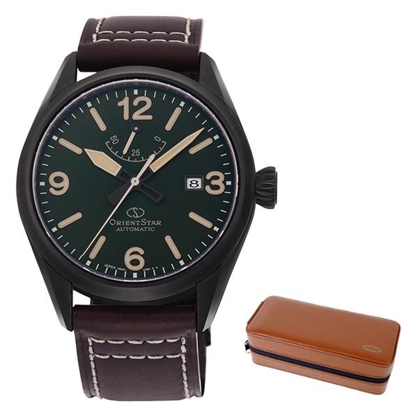 (時計ケースセット)(国内正規品)(オリエントスター)ORIENTSTAR 腕時計 RK-AU0201E (スポーツ)SPORTS メンズ アウトドア(牛革バンド 自動巻き(手巻付) アナログ)