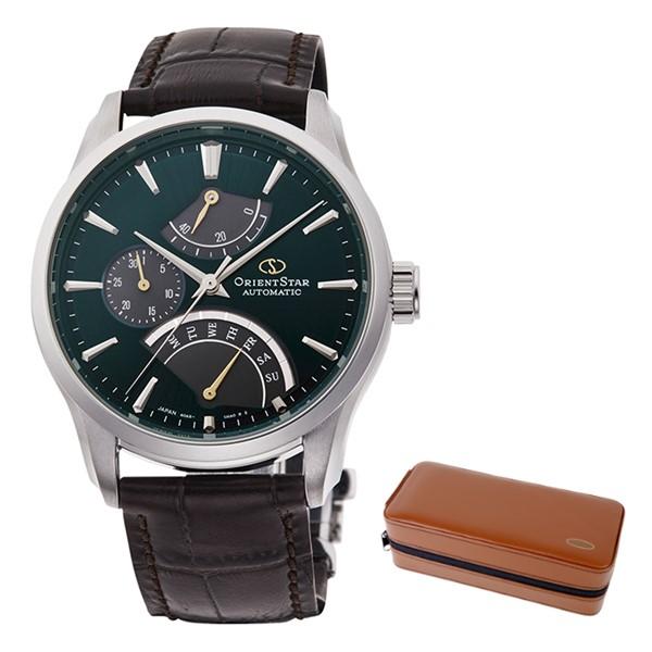 (時計ケースセット)(国内正規品)(オリエントスター)ORIENTSTAR 腕時計 RK-DE0302E (コンテンポラリー)CONTEMPORARY メンズ レトログラード(牛革バンド 自動巻き(手巻付) 多針アナログ)