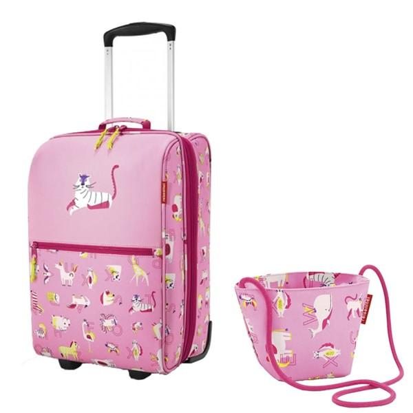 (セット)(キッズファッション)risenthel kids (ライゼンタールキッズ) ピンク トローリー IL3066&ミニバッグ IV3066