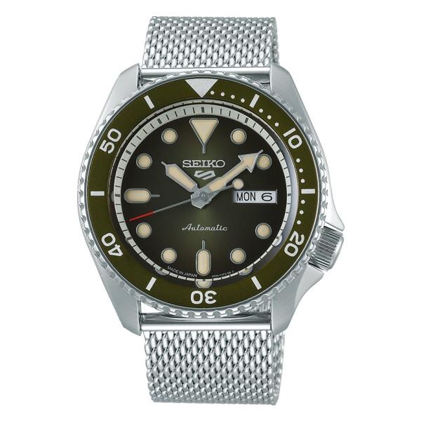 [ 国内正規品] セイコー5スポーツ SBSA019 (5スポーツ) SEIKO 5 SPORTS SEIKO(セイコー) 腕時計 メカニカル Suits 流通限定モデル(ステンレスバンド 自動巻き(手巻付) アナログ)