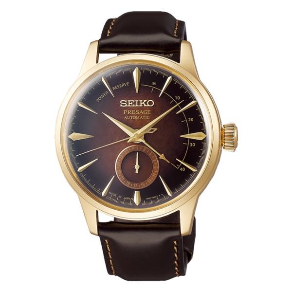 (国内正規品)(セイコー)SEIKO 腕時計 SARY136 (プレザージュ)PRESAGE メンズ カクテルシリーズ 2019 限定モデル(牛革バンド 自動巻き(手巻付) アナログ)