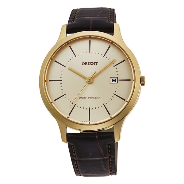 (国内正規品)(オリエント)ORIENT 腕時計 RH-QD0003G (コンテンポラリー)CONTEMPORARY メンズ ペアモデル(牛革バンド クオーツ アナログ)