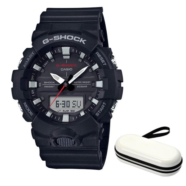 (時計ケースセット)(国内正規品)(カシオ)CASIO 腕時計 GA-800-1AJF (ジーショック)G-SHOCK メンズ(樹脂バンド クオーツ アナデジ)