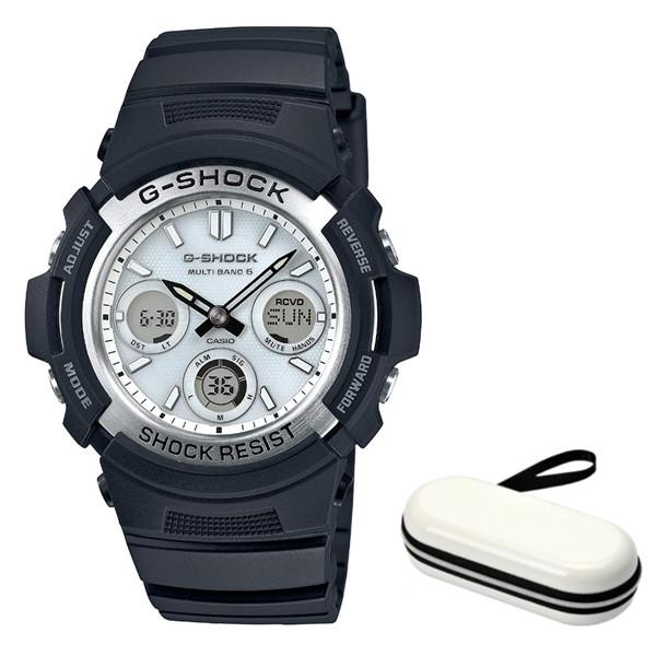 (時計ケースセット)(国内正規品)(カシオ)CASIO 腕時計 AWG-M100S-7AJF (ジーショック)G-SHOCK メンズ(コンポジットバンド 電波ソーラー アナデジ)