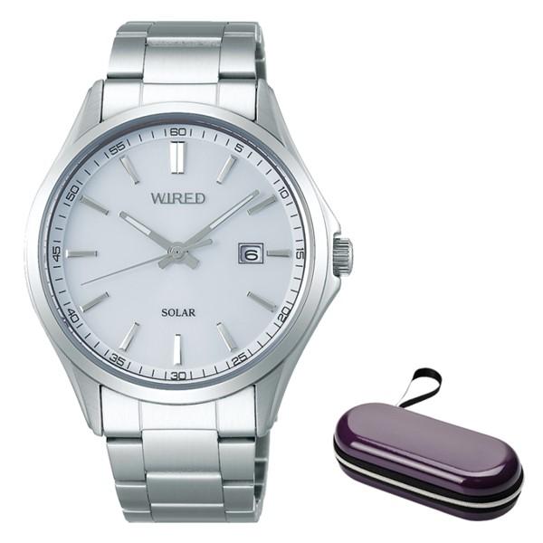 (時計ケースセット)(国内正規品)(セイコー)SEIKO 腕時計 AGAD405 (ワイアード)WIRED メンズ(ステンレスバンド ソーラー アナログ)