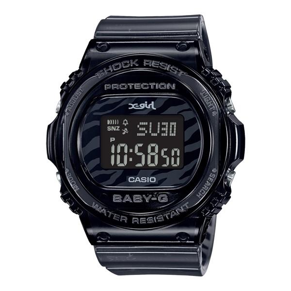 (国内正規品)(カシオ)CASIO 腕時計 BGD-570XG-8JR (ベビーG)BABY-G レディース X-girl コラボ 限定モデル(樹脂バンド クオーツ デジタル)