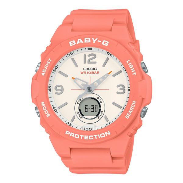 (国内正規品)(カシオ)CASIO 腕時計 BGA-260-4AJF (ベビーG)BABY-G レディース(樹脂バンド クオーツ アナデジ)