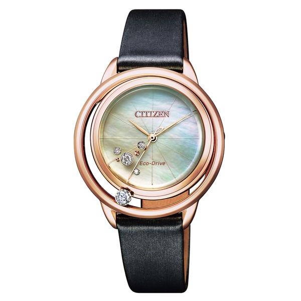 (国内正規品)(シチズン)CITIZEN 腕時計 EW5522-20D L(エル) レディース Arcly Collection Oasis inspired 限定モデル(サテン風合成皮革バンド ソーラー アナログ)